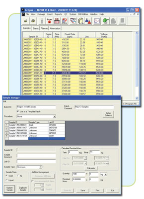 Eclipse - Control and Analysis Software for S5XLB and LB5500 Systems