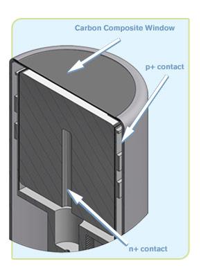 Reverse Electrode Coaxial Ge Detectors (REGe)