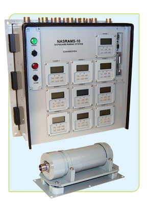 Naval Ship Radiation Monitoring System NASRAMS-10
