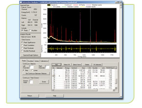 Genie 2000 Gamma Analysis Software