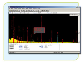 Genie 2000 Basic Spectroscopy Software